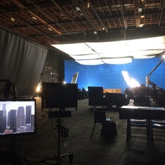 Photo taken at Sony Pictures Studios Stage 30 by Brooke M. on 4/14/2014