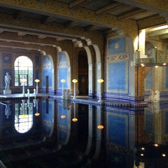 Photo taken at Hearst Castle Roman Pool by Jay on 7/13/2014