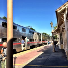 Photo taken at Menlo Park Caltrain Station by Anthony J. on 6/17/2015