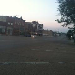 Photo taken at Downtown Topeka by Carolyn E. on 8/19/2013