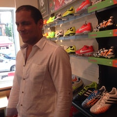 Photo taken at Upper 90 Soccer Store by Katie C. on 6/8/2014