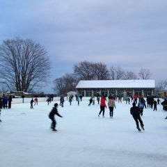 Photo taken at larz anderson skating rink by James G. on 1/1/2013