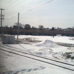 Photo taken at MBTA Lowell Station by Mehmet Mert R. on 3/10/2015