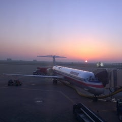 Photo taken at Gate C17 by Eduardo M. on 4/22/2014
