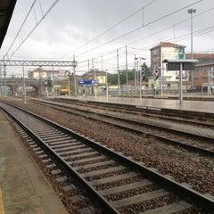 Photo taken at Stazione Asti by Pablo B. on 9/29/2013