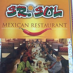 Photo taken at Sr. Sol Mexican Restaurant by Irizaida on 11/8/2014