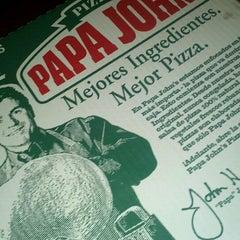 Photo taken at Papa John's Pizza by Felipe D. on 11/24/2012