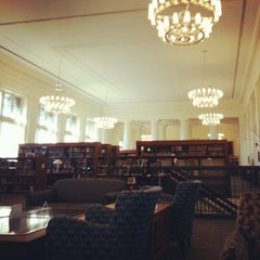 Photo taken at Harvard Law School Library by Emily on 10/5/2012
