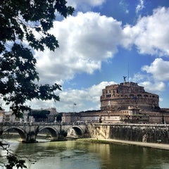 Photo taken at Ponte Sant'Angelo by Emerson G. on 5/12/2013