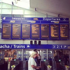 Photo taken at Dublin Connolly Railway Station by Anjay29 on 7/27/2013