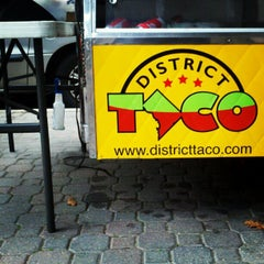 Photo taken at District Taco by Patrick P. on 12/7/2012