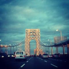 Photo taken at George Washington Bridge by Patrick P. on 12/22/2012