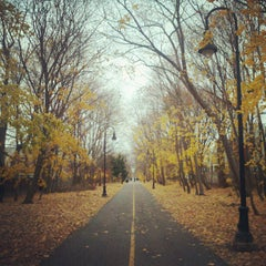 Photo taken at Grove-Cedar Bike Path by Patrick P. on 11/25/2012