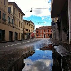 Photo taken at Fermata ACTV Via Carducci by Giuseppe B. on 3/23/2014