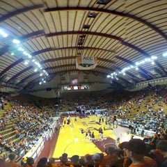 Photo taken at Cassell Coliseum by Channing M. on 11/10/2012