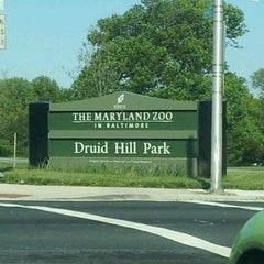 Photo taken at Druid Hill Park by Eddiehollywood on 4/29/2012