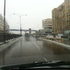Photo taken at Waha Circle | دوار الواحة by Qais A. on 3/1/2012