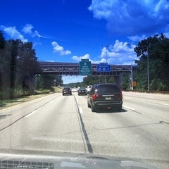 Photo taken at Garden State Parkway -- Saddlebrook by Kim L. on 7/15/2011