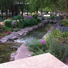 Photo taken at Mears Park by Melanie on 8/13/2012