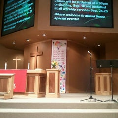 Photo taken at Hosanna! Lutheran Church (LCMC) by Chris M. on 9/18/2011