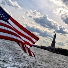Photo taken at New York Harbor by @cfnoble on 7/4/2012