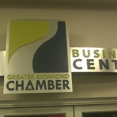 Photo taken at Greater Richmond Chamber Business Center - RIC by Troy B. on 12/26/2010