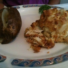 Photo taken at Pappas Restaurant by Valerie M. on 7/31/2011