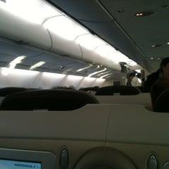 Photo taken at Air France - Flight AF 7 by Ibrahim B. on 4/5/2012