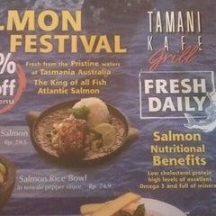 Photo taken at Tamani Kafe Grill by Irsan G. on 12/4/2011