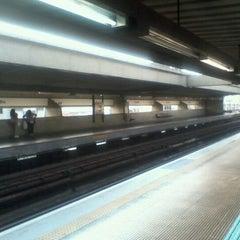 Photo taken at Estação Carandiru (Metrô) by Lice D. on 9/10/2011