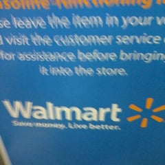 Photo taken at Walmart Supercenter by Mark B. on 3/4/2012