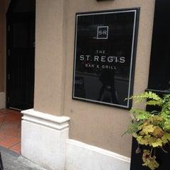 Photo taken at St. Regis Bar & Grill by Dora K. on 4/2/2012