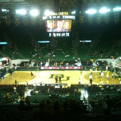 Photo taken at Ferrell Center by Kimberly L. on 11/13/2011