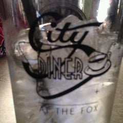 Photo taken at City Diner at the Fox by Jennifer L. on 11/25/2011