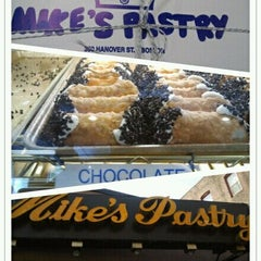 Photo taken at Mike's Pastry by Florise on 6/7/2012
