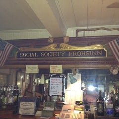 Photo taken at Social Society Frohsinn by Jeff P. on 2/5/2012
