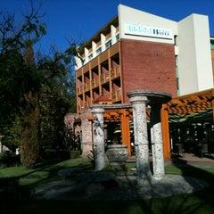 Photo taken at Thermal Hotel Harkány by Attila T. on 6/16/2012