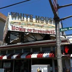 Photo taken at White House Sub Shop by Brad A. on 7/10/2011