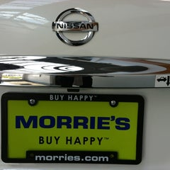 Photo taken at Morrie's Brooklyn Park Nissan Subaru by Benjamin F. on 6/28/2012