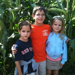 Photo taken at Connors Farm by david k. on 9/10/2011