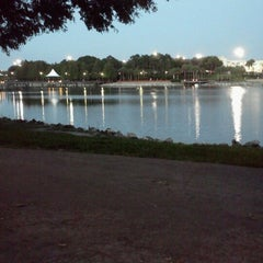 Photo taken at Cranes Roost Park by Alyssa I. on 6/28/2012