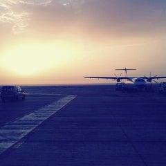 Photo taken at Aeropuerto de Fuerteventura (FUE) by Jose A. R. on 8/9/2012
