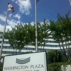 Photo taken at Washington Plaza Hotel by Bethany R. on 6/7/2012