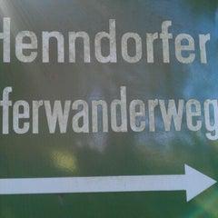 Photo taken at Henndorfer Uferwanderweg by David Doeke N. on 9/25/2011