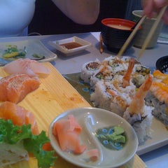 Photo taken at w Sushi by Julia G. on 7/23/2011