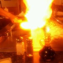 Photo taken at Sappari Japanese Steak House by Eric M. on 9/22/2011