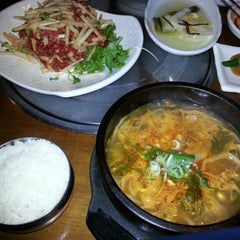 Photo taken at 본고향맛집 by Kevin (Sang Ho) Y. on 8/8/2012