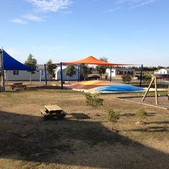 Photo taken at BIG4 Bellarine Holiday Park by Jeff T. on 4/21/2012