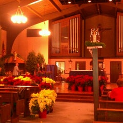 Photo taken at St. Matthew The Apostle  Church by Christine on 12/22/2011