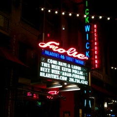 Photo taken at Hilarities 4th Street Theatre by Jessica H. on 11/19/2011